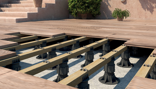 Pedestal Paver System Eterno Roof Deck Supports